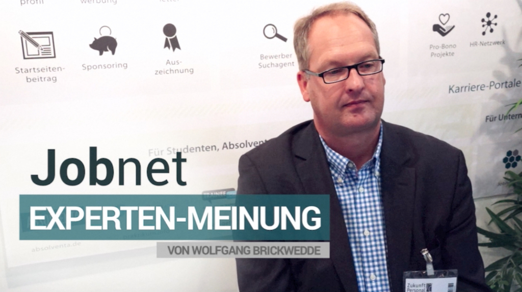 Wolfgang Brickwedde im Video-Interview über Recruiting-Trends 2014
