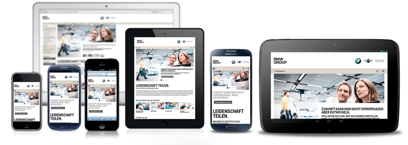 Mobile Recruiting: Bei BMW in allen Facetten