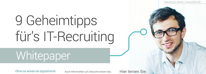 Whitepaper IT-Recruiting, Entwickler Personalbeschaffung